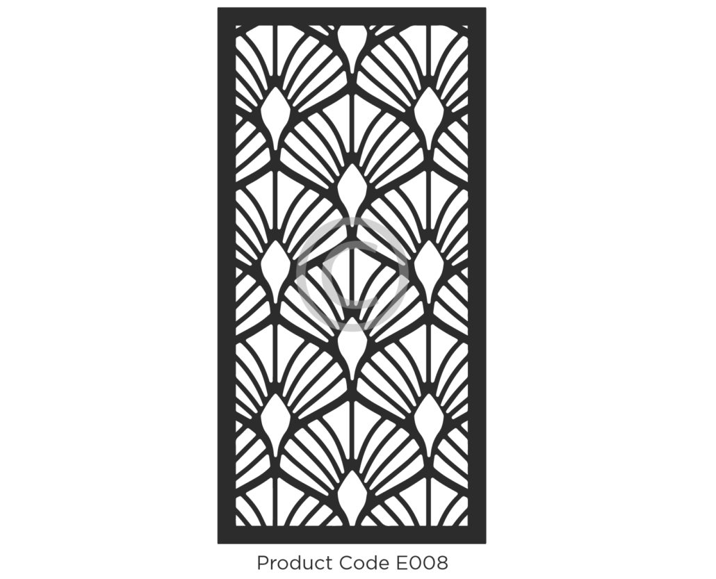 decorative metal screen patterns metal outdoor privacy screens product elysium decorative screen product code e008 - Decorative Screens